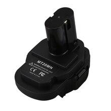 Mt20Mn 18V Lithium Battery To Ni-Mh Ni-Cd Li-Ion Battery Converter Adapter for Makita Bl1860B/Bl1860/Bl1850B/Bl1850/Bl1840/Bl183