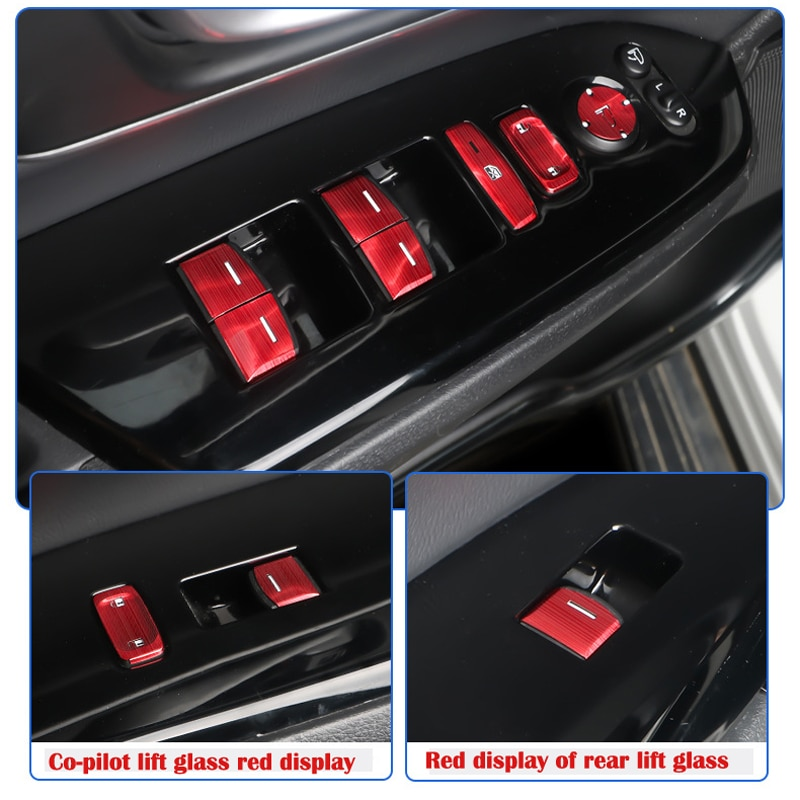 AliExpress - For Honda Hao Ying 2020 CRV Window Button Decoration Stickers, 2017-2019/ Hybrid Modified Glass Lifting Stickers Auto Parts