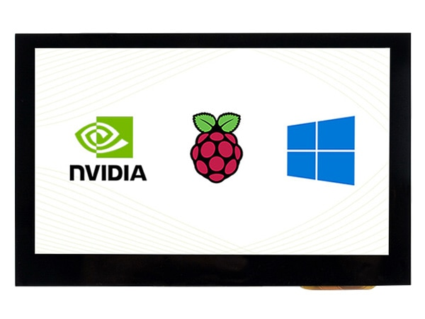 4.3 polegadas, 800x480, tela de toque capacitivo, interface hdmi, suporta multi-pces/multi sistemas, ips, 4.3 polegada hdmi lcd (b)