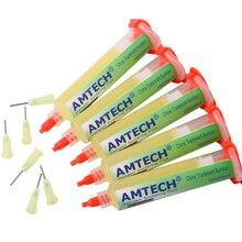 Pâte 100% originale AMTECH NC-559-ASM BGA PCB pâte à souder sans nettoyage soudure avancée graisse de Flux dhuile 10cc pâte de réparation à souder