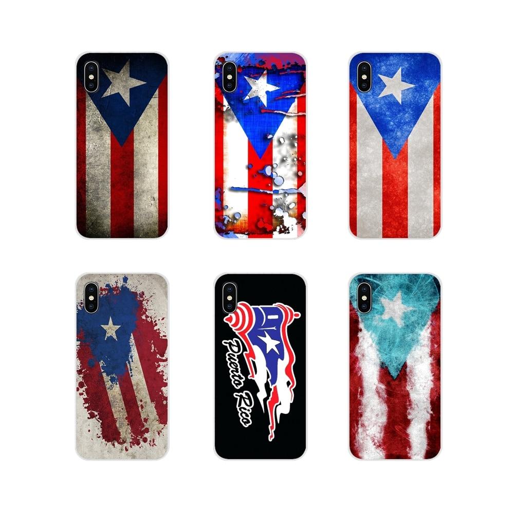 Funda de teléfono con bandera de Puerto Rico, accesorios para Samsung Galaxy...