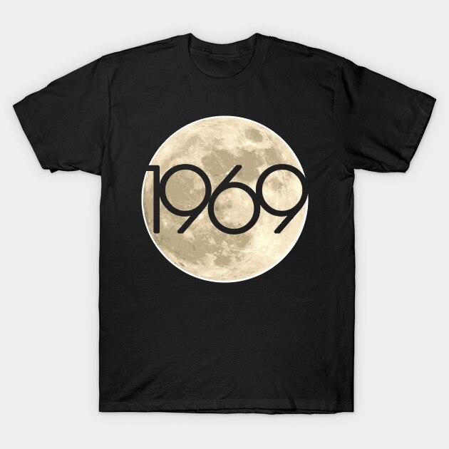 Men t-shirt 1969 Moon Shot 50th Anniversary Apollo 11 Lunar Landing by jreedart tshirt Women t shirt