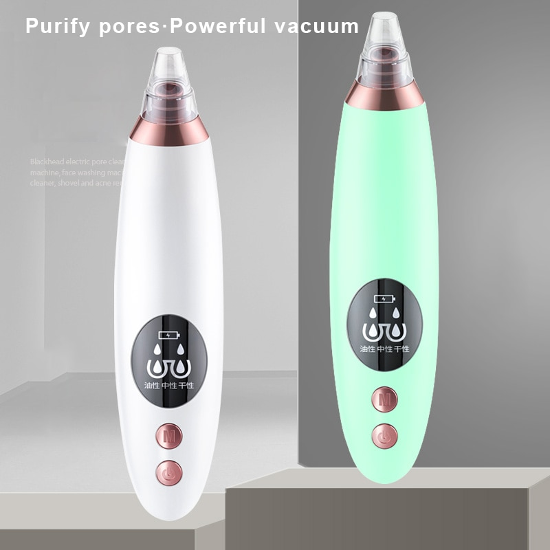 NULU Electric Pore Cleanser Instrument Acne Artifact Domestic Beauty Apparatus Facial Cleaner Blackhead Removal Device TSLM1