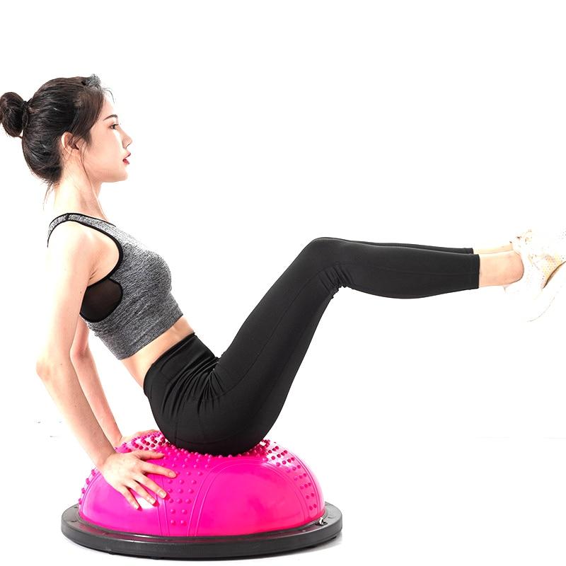 Pelota de Yoga inflable para entrenamiento de equilibrio, equipo de entrenamiento de poder, pelota de entrenamiento de resistencia de Yoga
