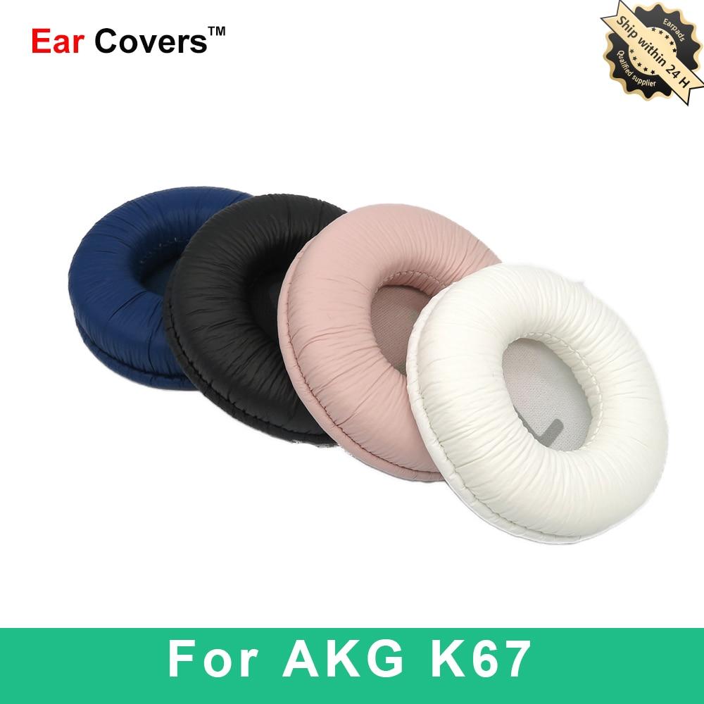 Almohadillas para auriculares AKG K67, almohadillas de repuesto para auriculares, almohadillas de...