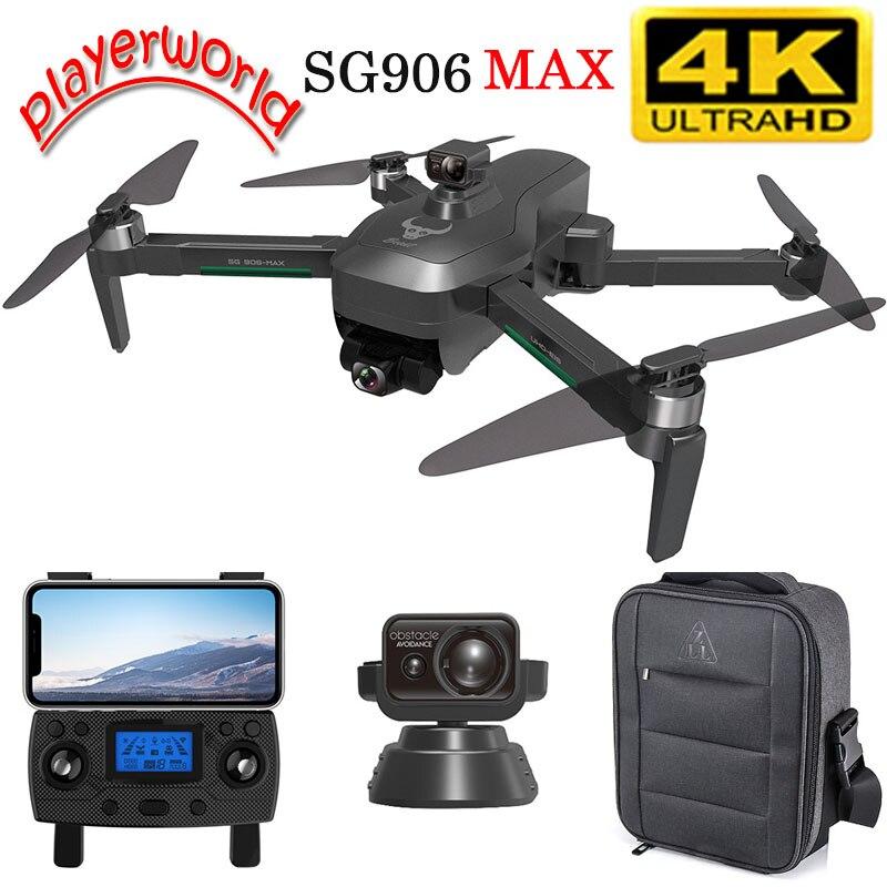 Dron SG906 Pro Max RC con cardán, 3 ejes, 4K, HD, cámara...