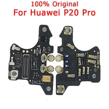Originele Onderdelen Voor Huawei P20 Pro Microfoon Module Board Antenne Dock Verbinding Signaal Boord Mic Flex Kabel