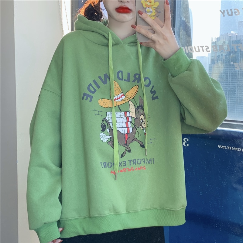 Vy1158 2020 spring summer autumn new women fashion casual Girls cute Sweatshirt woman Hoodies female Lady clothes for teens