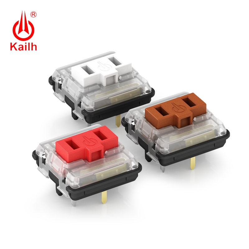 Kailh low profile Switch 1350 Chocolate  Keyboard  Switch  RGB SMD kailh Mechanical Keyboard white stem clicky hand feeling hexgears x1 bluetooth keyboard rgb backlight pbt keycap kailh choc switch keyboard wireless portable mechanical keyboard