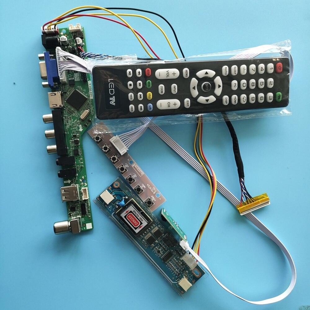 كيت ل N184H4-L01/L02/L03/L04 VGA AV تحكم مجلس 1920x1080 التلفزيون HDMI-متوافق USB شاشة LED 2 مصابيح الصوت لوحة