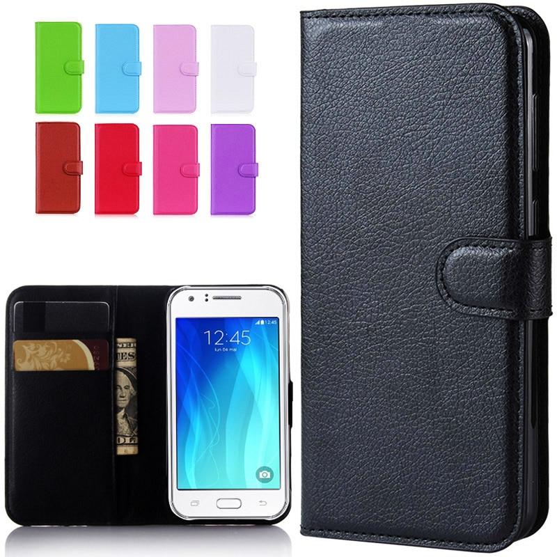 For Samsung Galaxy J1 2016 J1 Mini Prime J106 J1 Nxt J105 J100 J120F J1 Mini Case Leather Flip Case For Samsung J1 Ace J110 Case