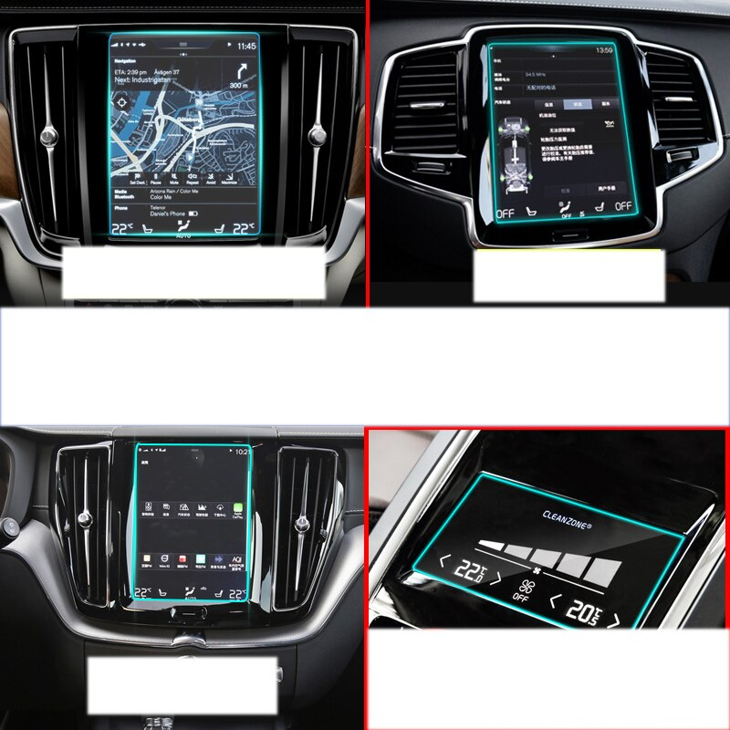 Lsrtw2017 автомобильная навигация GPS экран Защитная пленка для volvo xc90 xc60 s90 xc40 2016 2017 2018 2019 v90 v60 8,7 дюймов
