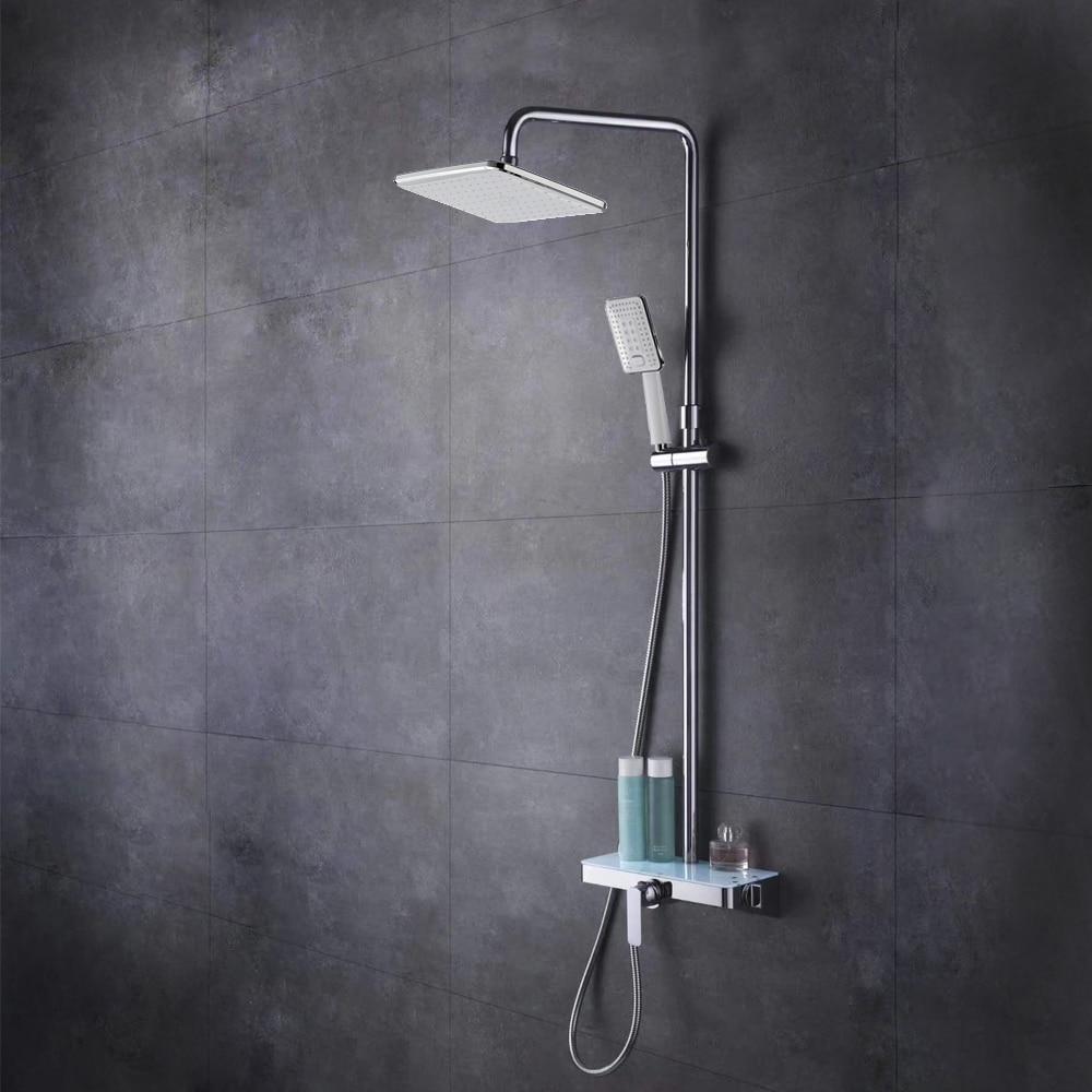 HIDEEP Shower Mixer Valve Set Mixing Valve Handheld Bathroom Product Bath Shower Set Rainfall Shower Systems