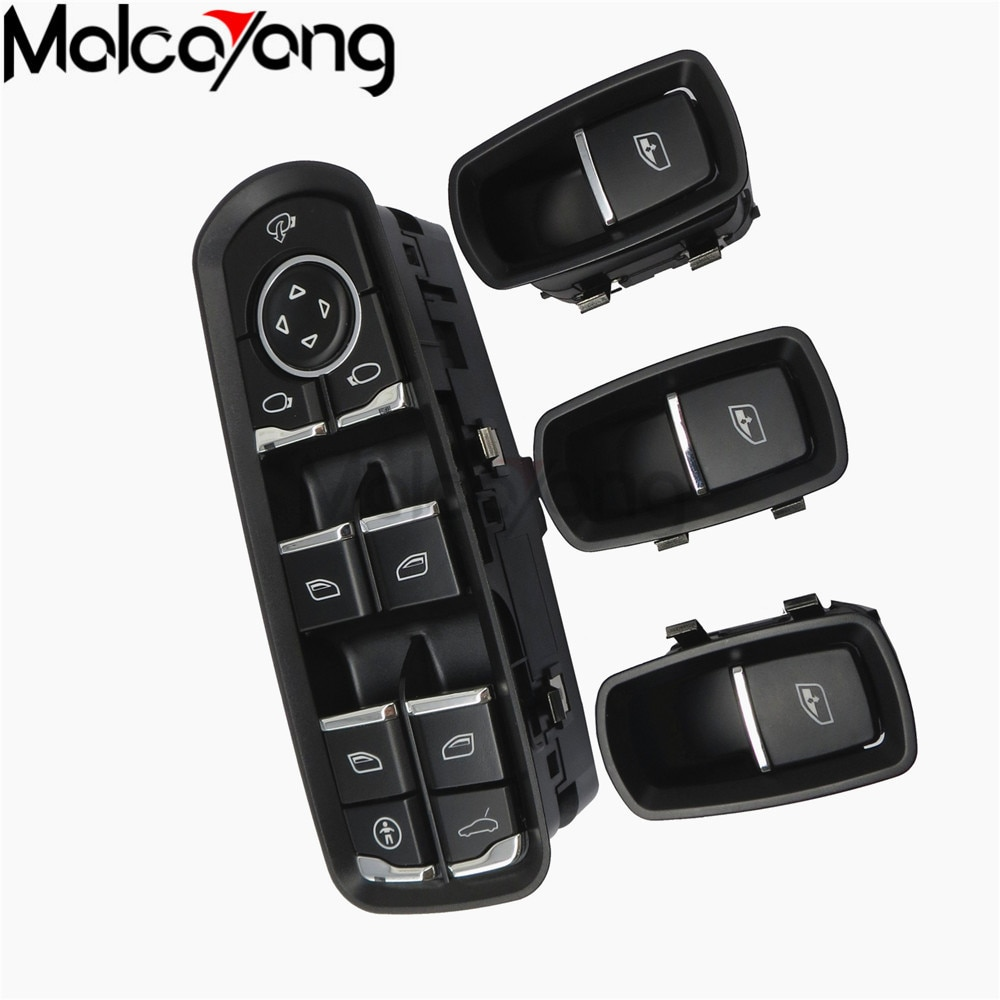 Front Door Mirror Window Control Switch Buttom For Porsche Panamera Cayenne Macan 2009 2010 2011 2012 2013 2014 2015 2016 2017