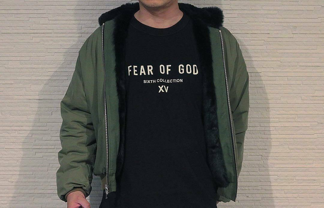 Fear God Fog Sixth Collection Xv Tee Japan Limited T-Shirt Black Unisex Size S-3Xl