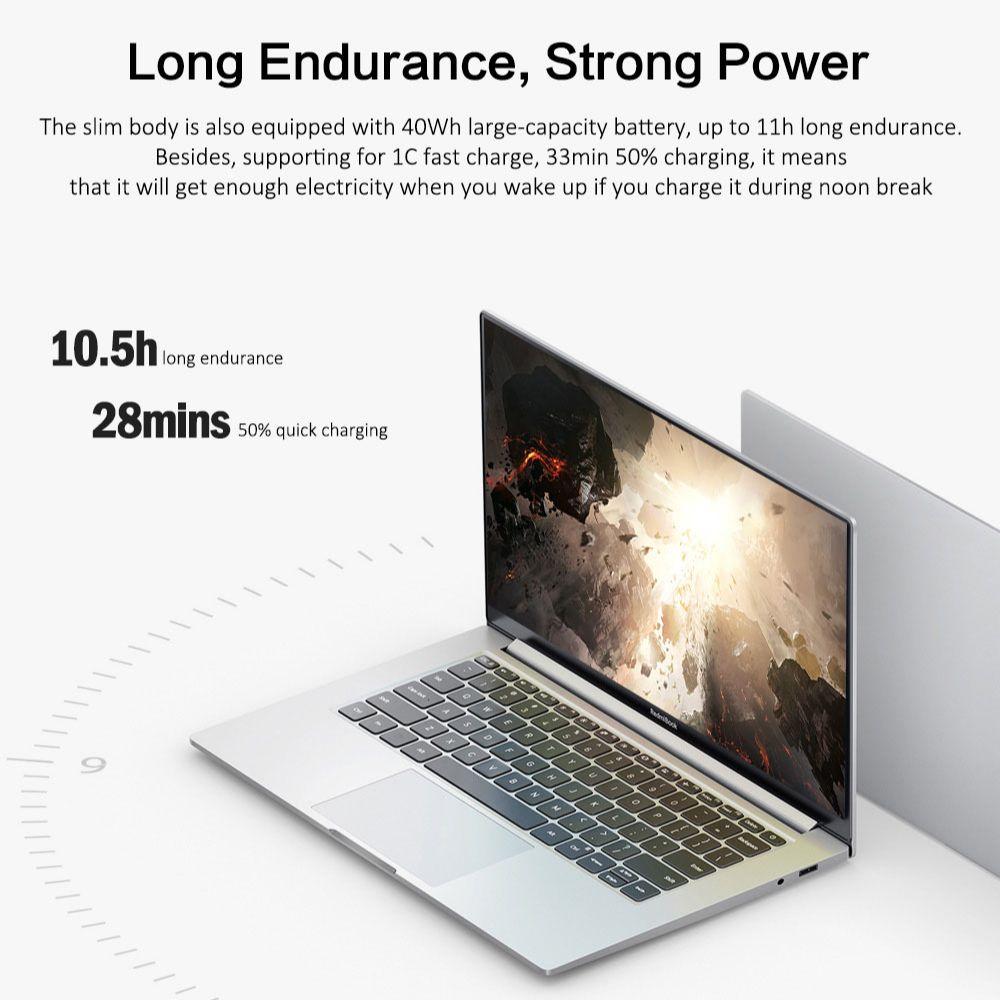 Xiaomi Mi RedmiBook 14 II Laptop Computer 14 Inch i5-1035G1 MX350 16G/8G DDR4 512G SSD Office Notebook Windows 10 100%sRGB Wifi6
