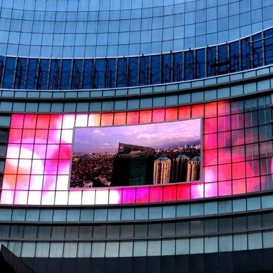 P8 شاشة عرض إعلانات خارجية شاشة عرض بانتاس شاشة LED