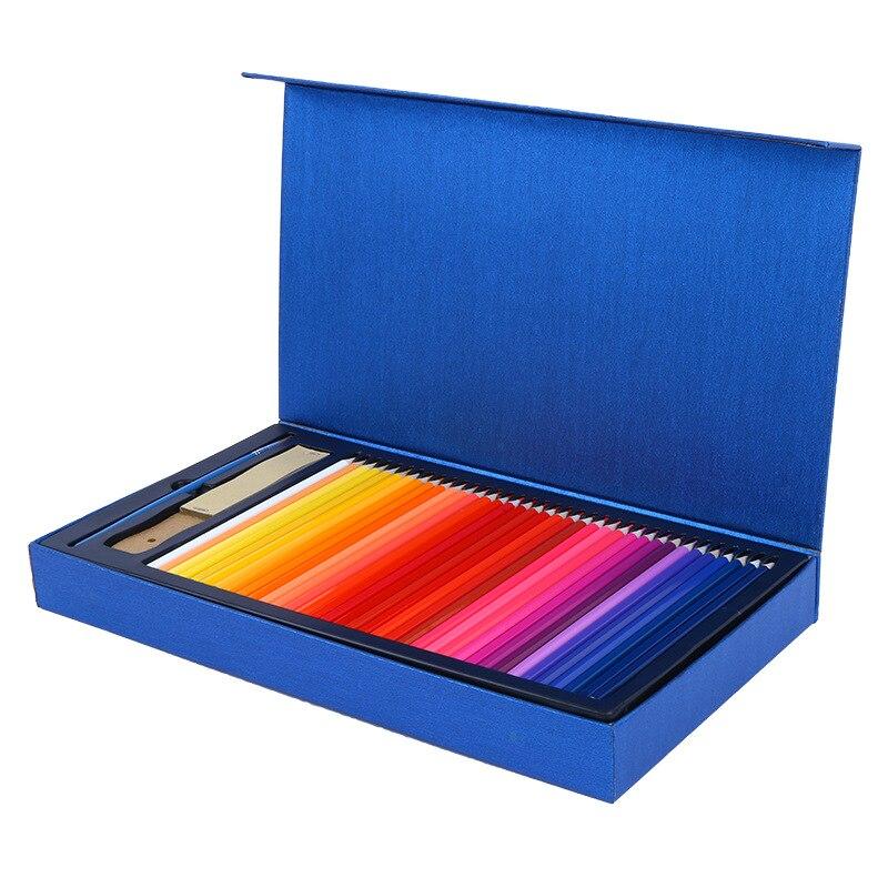 121 pcs caixa conjunto de ferramentas de desenho soluvel em agua aquarela metalico