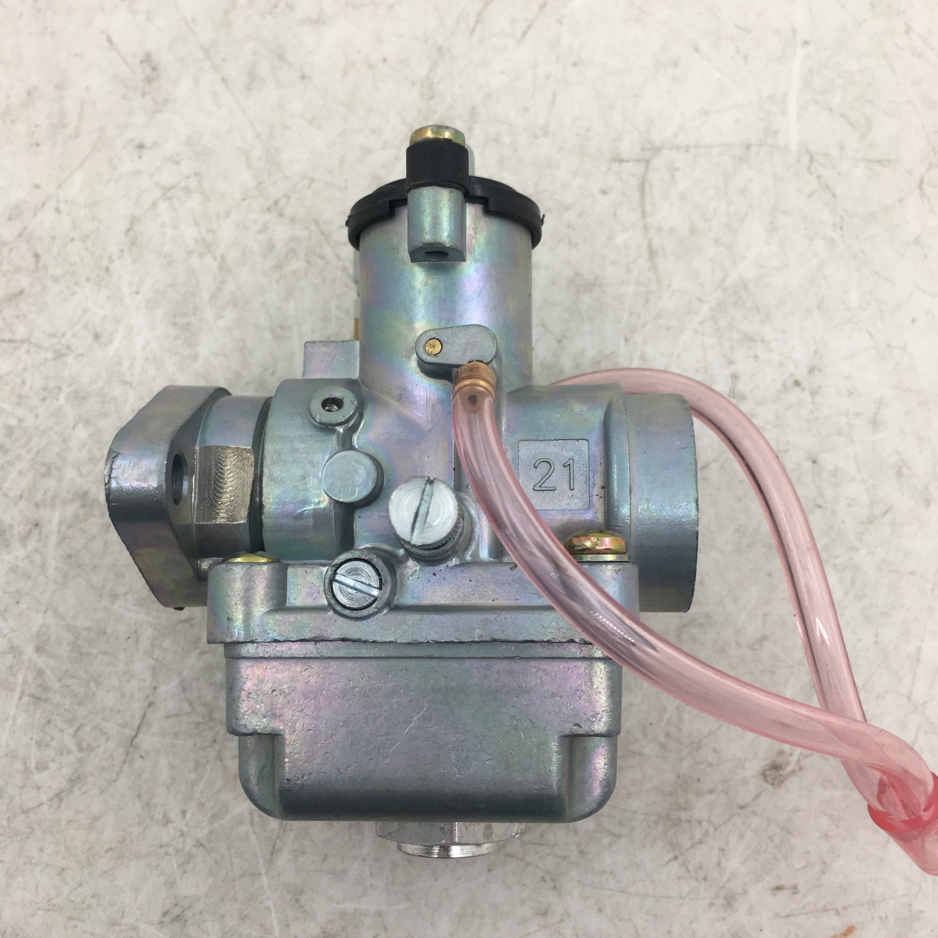 SherryBerg Vergaser carburador 21MM AM 21T para Simson S50 S51 KR51 SR50 AMAL réplica nuevo carburador completo carbono vergaser