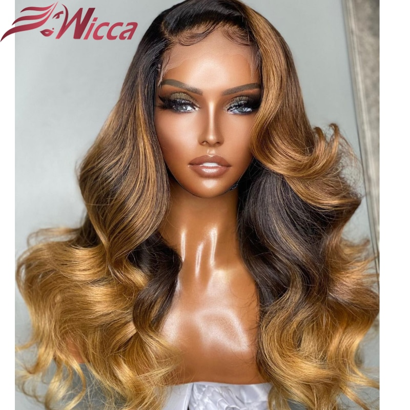 body-wave-honey-blond-ombre-highlight-13x4-lace-front-for-women-4x4-human-hair-wigs-remy-brazilian-preplucked-lace-front-wigs