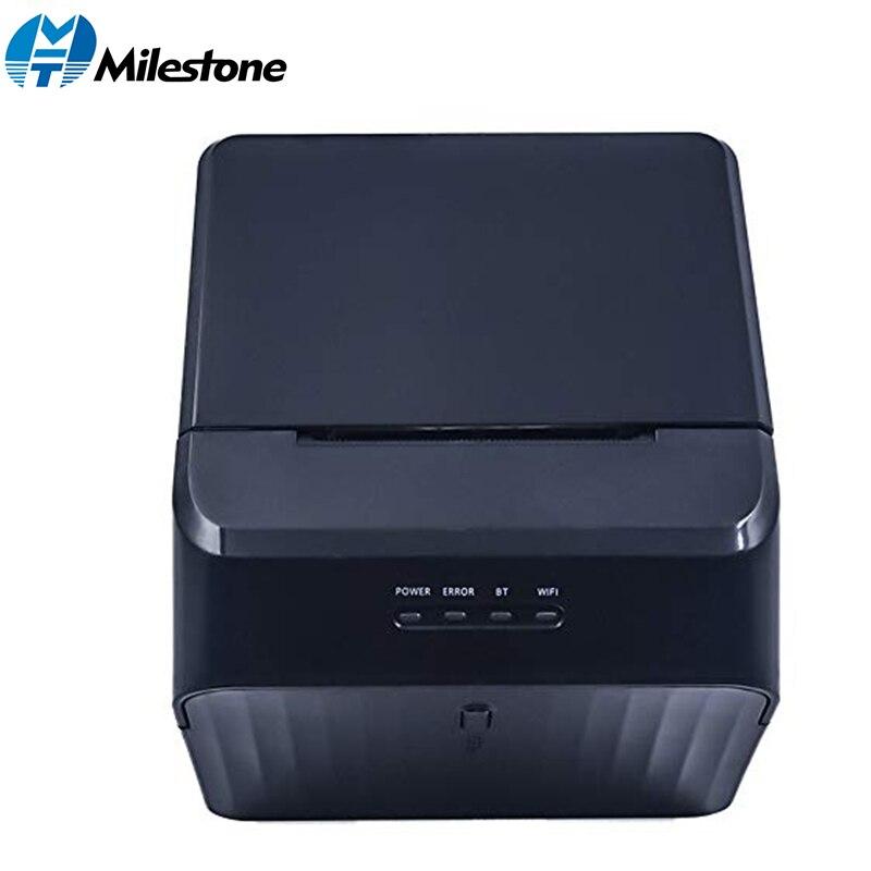Impresora térmica Bluetooth Milestone de 58mm, impresora de recibos POS, billete de recibo, compatible con efectivo, impresora USB, recibos de computadora, MHT-P58C /D