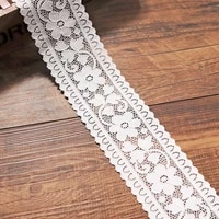 5 yards stretch elastic lace trim white lace ribbon band for sewing bra underwear lingerie decoration lace headband accessories