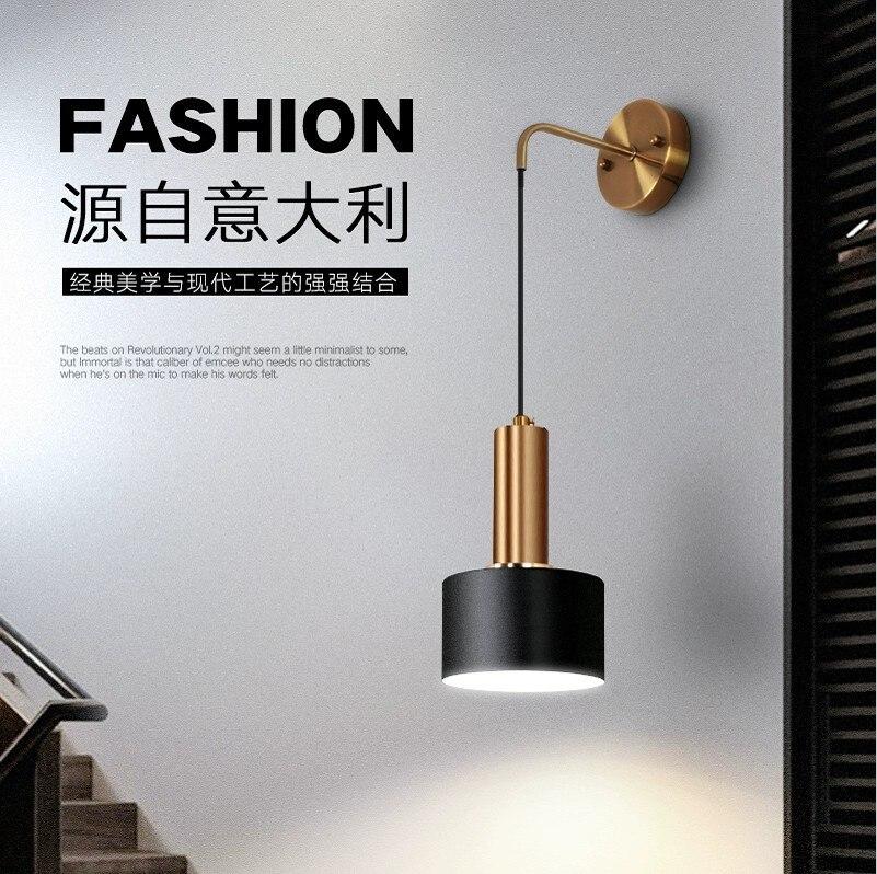 Loft люстра в гостинную ventilador de teto de ferro lâmpada de parede do corredor sala de estar quarto lâmpada luminaria de parede macaco