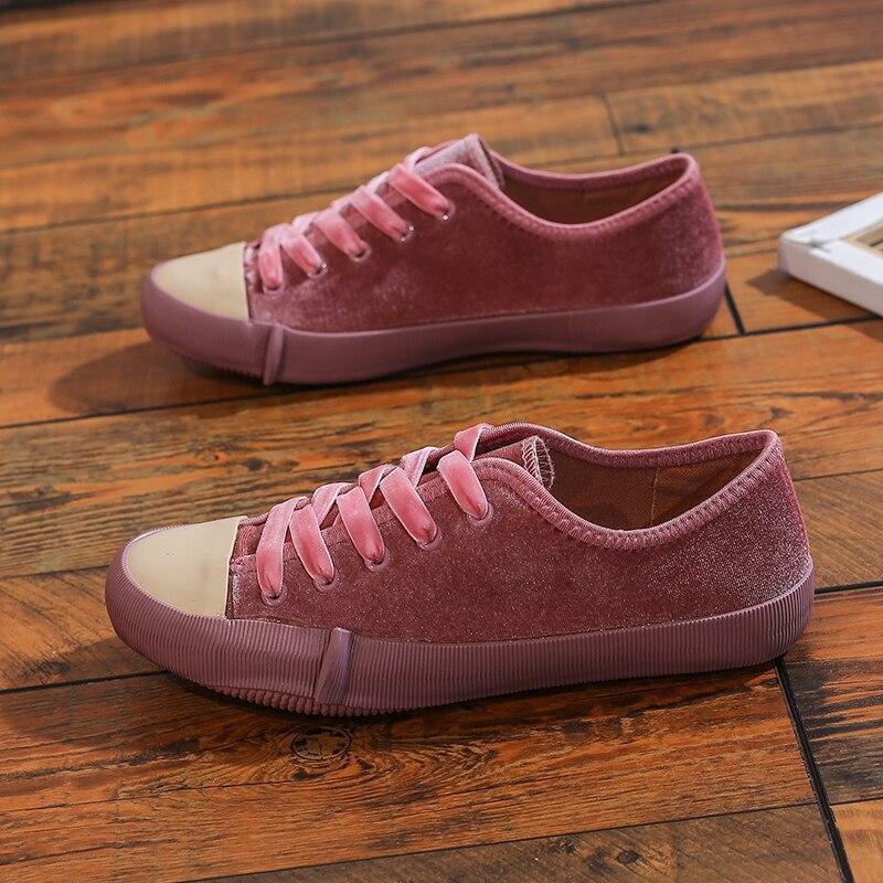 Women's Canvas Casual Vulcanize Running Shoes Girls Student Sport Sneakers Summer Walking Flats High