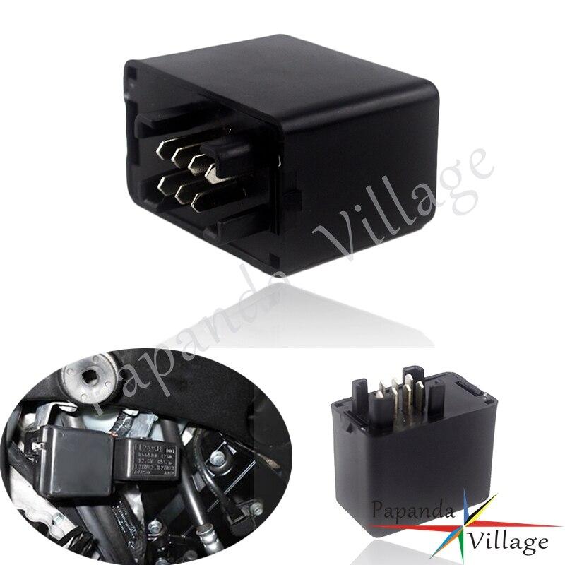 7 Pin LED de la motocicleta Flasher Relay indicador para Hayabusa GSXR 1300 Bandit 600 de 1200 de 1250 GSF 600 1200 GSF 650 1250 GSX 1400