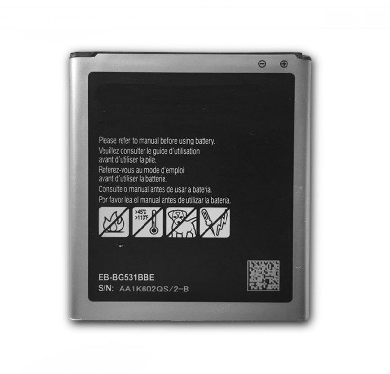 10 unids/lote 2600mAh EB-BG530BBC batería para Samsung G5308W G5309W G530F G531H G5306 J5 J5000 J5008 J5009 J500H J500F J3 J320