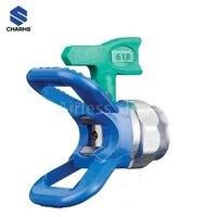 charhs 6 series airless tips fflp tip 314616618620 for airless spray gun low pressure nozzle guard thread size 78n