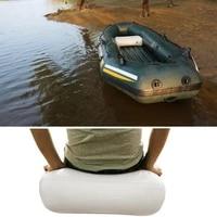 40 discounts hot air cushion inflatable boat camping seat thick big valve fishing outdoor pad
