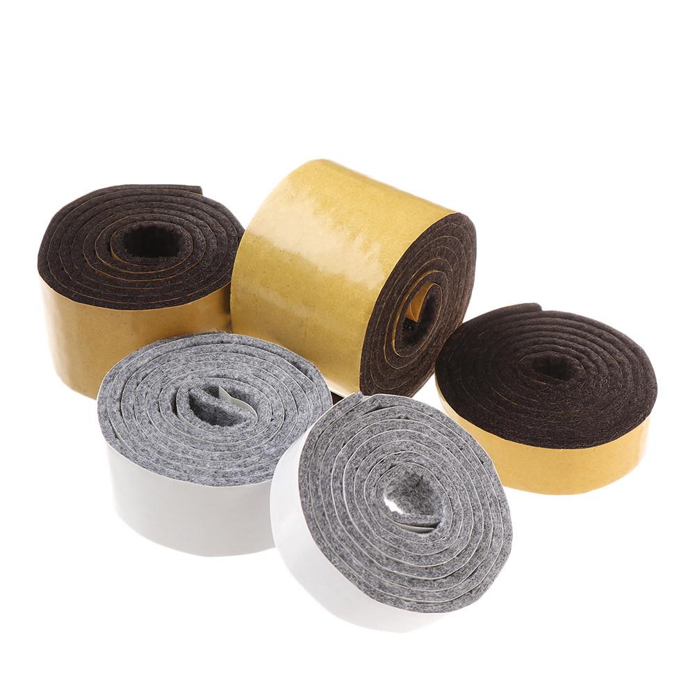 1 рулон самоклеящаяся войлочная мебельная накладка рулон для твердых поверхностей сверхмощная войлочная полоса немой износостойкий защит...