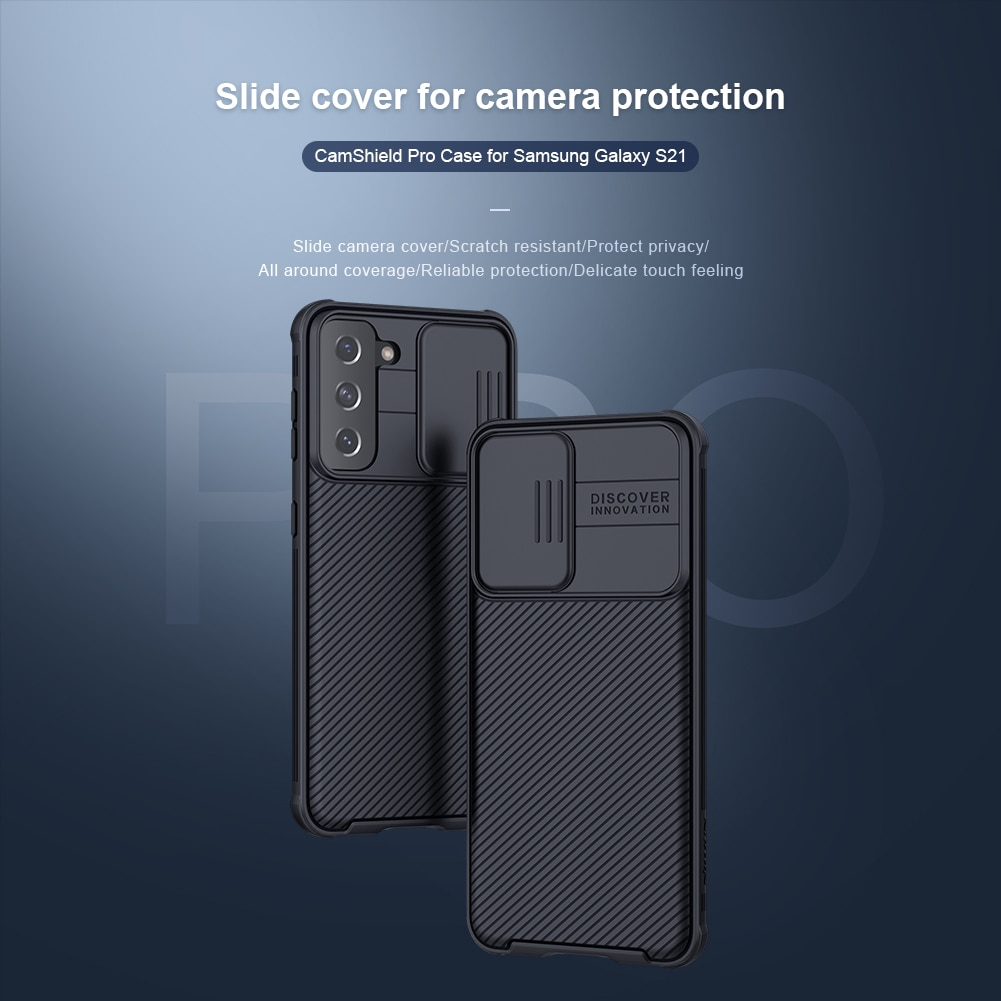10 قطعة/الوحدة بالجملة Nillkin CamShield برو الحال بالنسبة لسامسونج غالاكسي S21 حالة الشريحة غطاء للكاميرا حماية