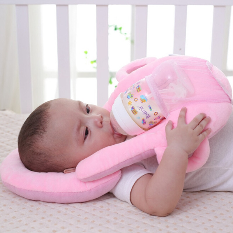 Детские подушки для кормления грудью, многослойный моющийся чехол, регулируемая подушка для младенцев, Подушка для кормления бутылочкой, у...