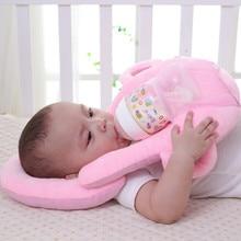 Baby Pillows Nursing Breastfeeding Layered Washable Cover Infant Adjustable Cushion Infant Bottle Feeding Pillow Baby Care