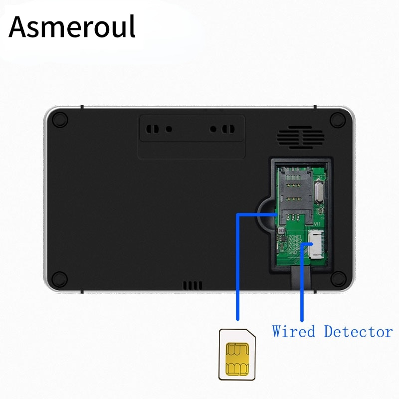 Tuya WiFi GSM Alarm System Anti Theft Alarm Smart Home Burglar Alarma Personal Touch Screen Motion Detector Smoke Door Sensor enlarge