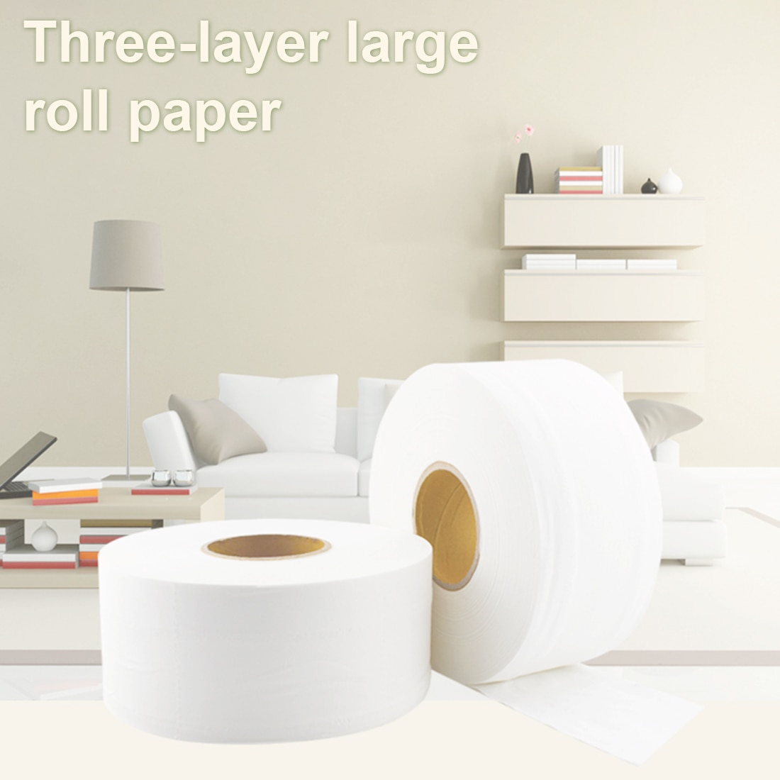 3pcs/bag 900+sheets 580g/Roll Toilet Tissue Home Bath Toilet Roll toilet paper Soft Toilet Paper Paper Towels Water Absorption