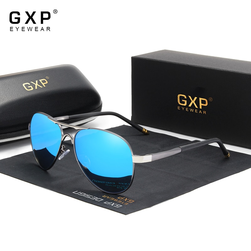GXP 2021 Fashion Men's Polarized Sunglasses Men Driving Shield Eyewear Anti-reflective Sun Glasses