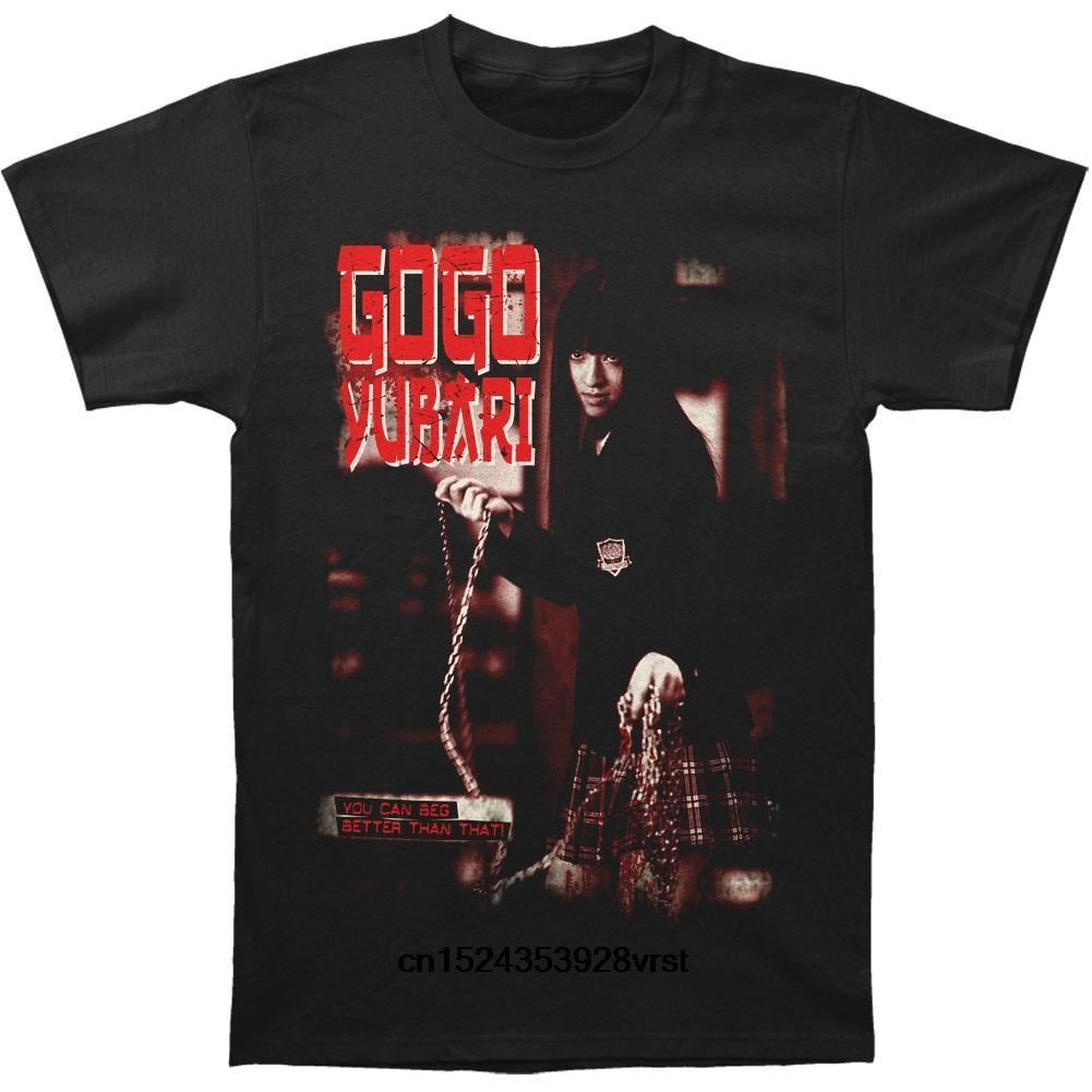 Camiseta divertida para hombre, camiseta novedosa, camiseta ajustada para mujer Kill Bill Gogo Yubari