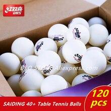 Balles de ping-pong DHS 120 balles 1 étoile d40 + balles pour lentraînement de tennis de table 40 balles de ping-pong en plastique cousues par ABS