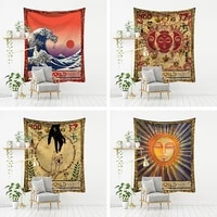 home decoration wall hanging tapestry webcast background cloth wall hanging tapestry