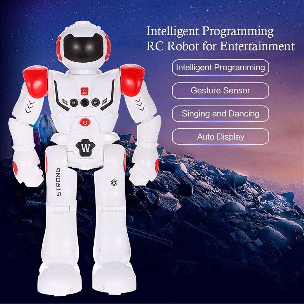 Robot inteligente de detección de gestos robot de baile Robot de Control remoto juguetes robot inteligente de juguete para niños