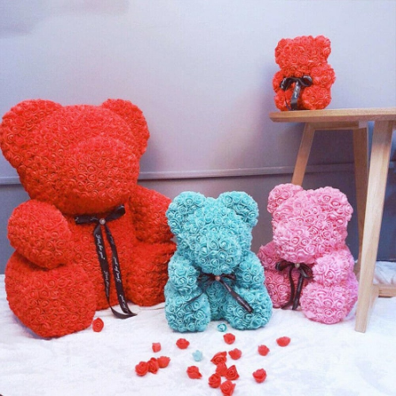1 pçs 200mm modelagem poliestireno isopor espuma urso branco artesanato bolas diy dia dos namorados festa decoração suprimentos presente de nascimento