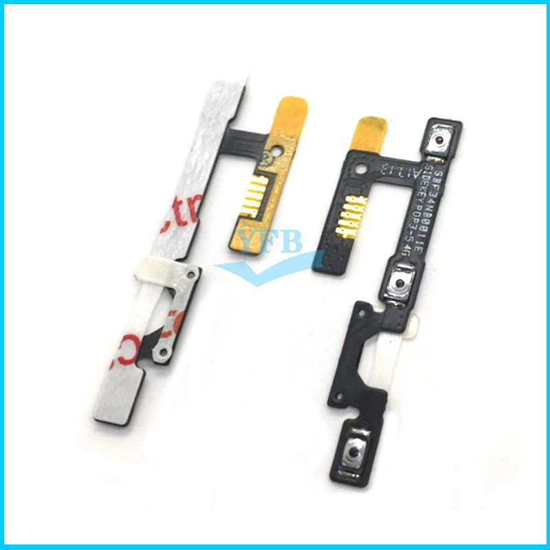 Encendido apagado interruptor de volumen botón lateral tecla Cable flexible para Alcatel One Touch Pixi 3 4G 5065 OT 5065 5065A 5065D OT5065