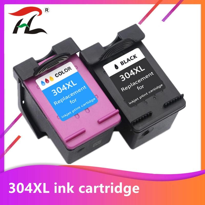 Yi le cai 304XL nova versão Cartucho de Tinta para hp 304 hp 304 xl deskjet envy 2620 2630 2632 5030 5020 5032 3720 3730 5010 printer