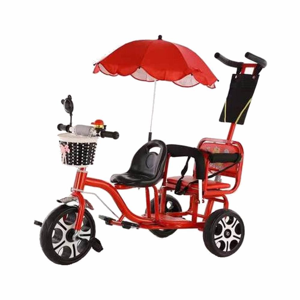 2021 детский велосипед, двойной велосипед, детский трехколесный велосипед, большой размер, для мальчиков и девочек, Двухместный, для путешест...