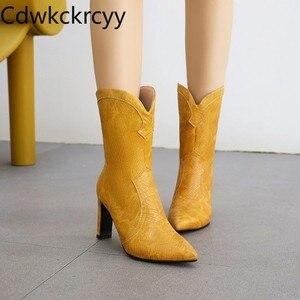 Зимние новые модные рыцарские сапоги с острым носком; Цвет черный, белый, розовый; Простые женские сапоги на высоком каблуке; Размеры 34-48