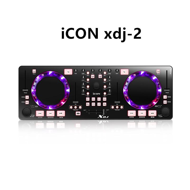 Icono de XDJ Mini USB MIDI/controlador DJ Profesional mezclador de Audio para...