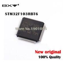 5 шт./лот STM32F103RBT6 128KB QFP-64 ARM MCU Новый и оригинальный IC